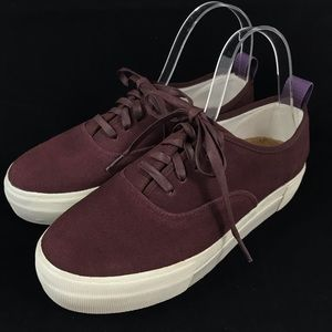 Eytys EU 42 M7.5 W9 Mother Suede Platform Sneakers